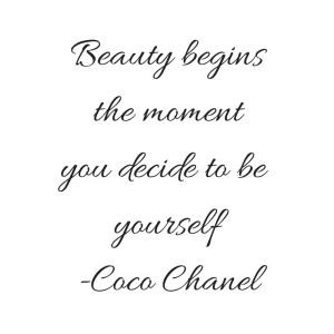 Beauty begins the momentyou decide to be